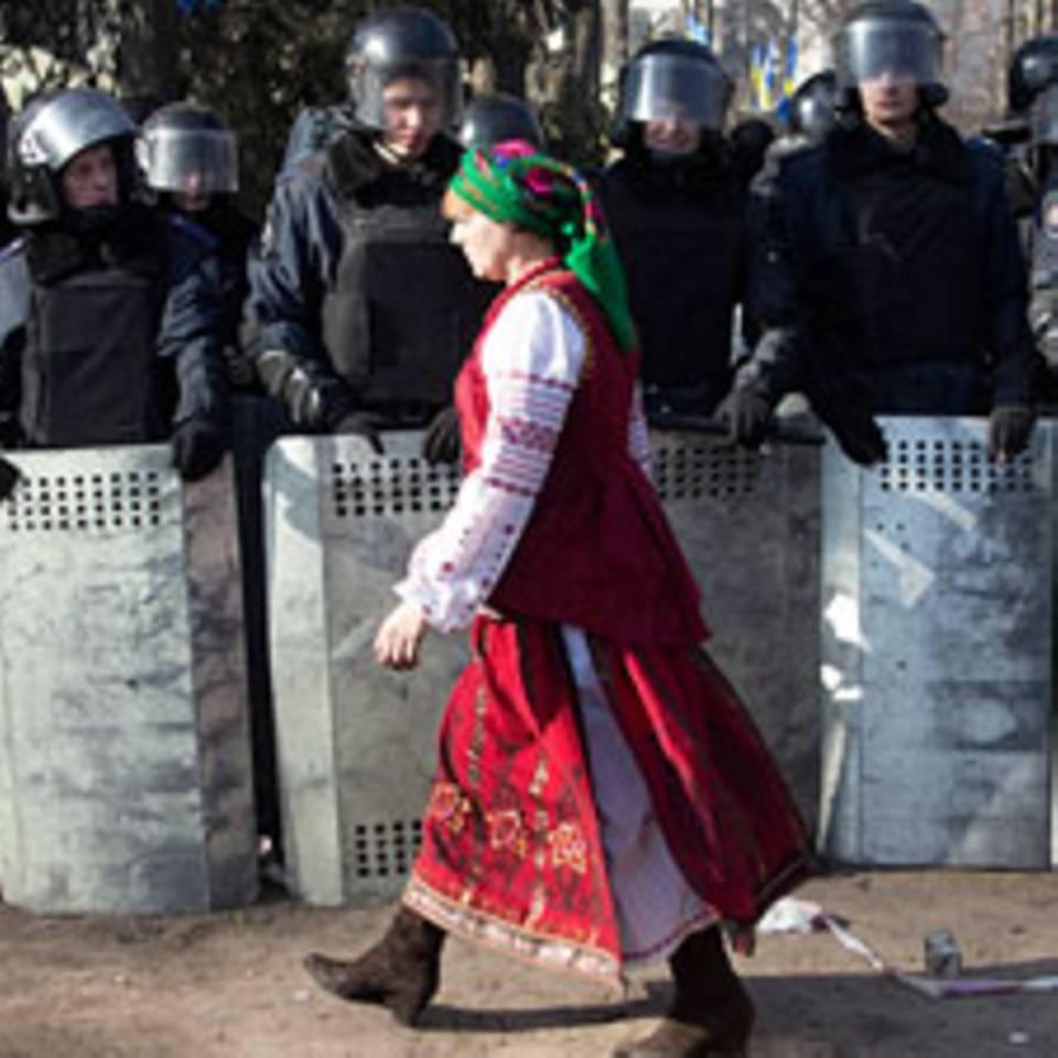 Ukraine: Vier Frauen berichten von den Protesten