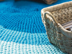 Teppich häkeln: Anleitung zum Nachmachen