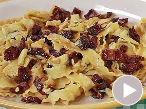 """Video-Kochschule: """"Mafaldine Con Carciofi"""" - Bandnudeln mit Artischocken"""