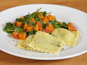 Die sind den Aufwand wert: Vegane Ravioli mit Gemüse