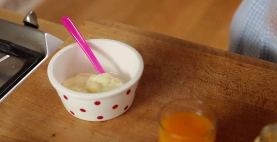 Annettes kleine Küche: Milch-Getreide-Brei: Das Rezept für Babys Abendbrei