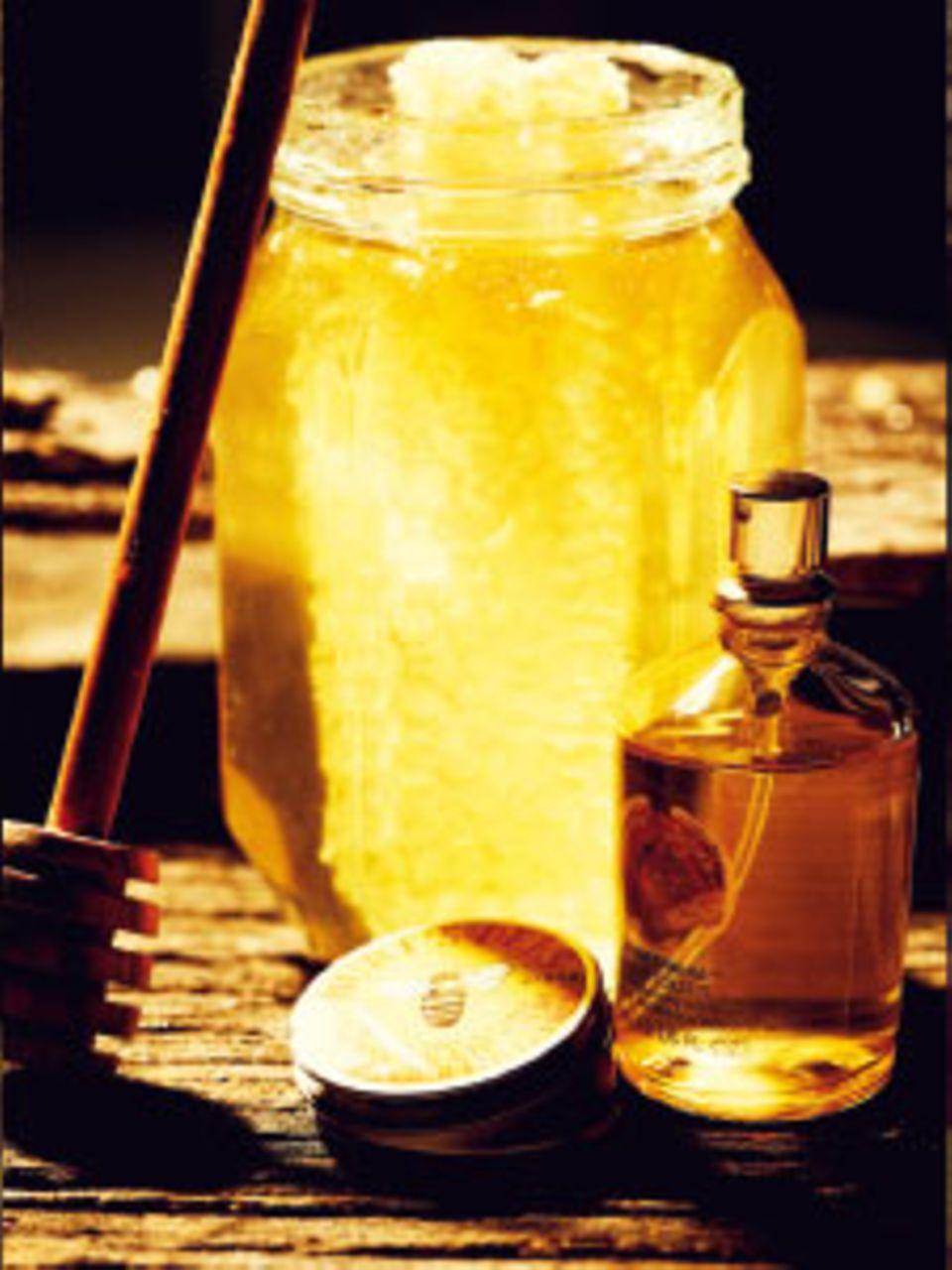 Kosmetik mit Honig: Süßes für die Haut