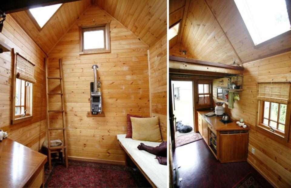 Leben im Mini-Haus: Acht Quadratmeter Glück