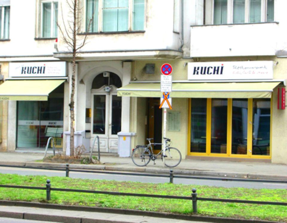 Das Restaurant Kuchi in Berlin