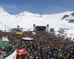 """Die """"Top of the Mountain Concerts"""" in Ischgl"""