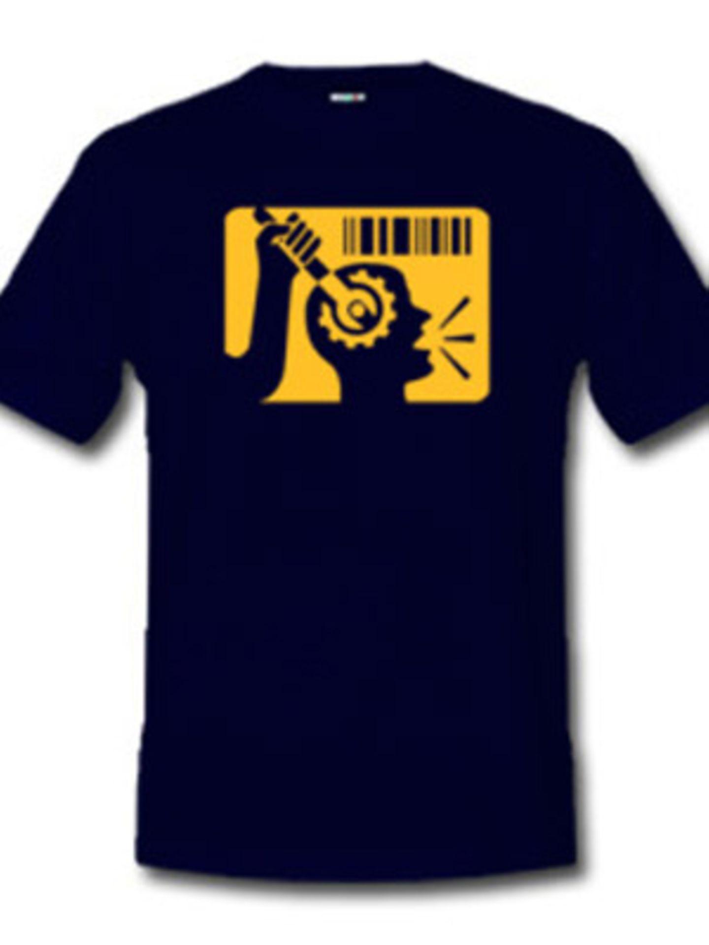 """Das Shirt zu George Orwells Kultroman """"1984"""" kostet ca. 19 Euro bei www.che-guevara.spreadshirt.net"""