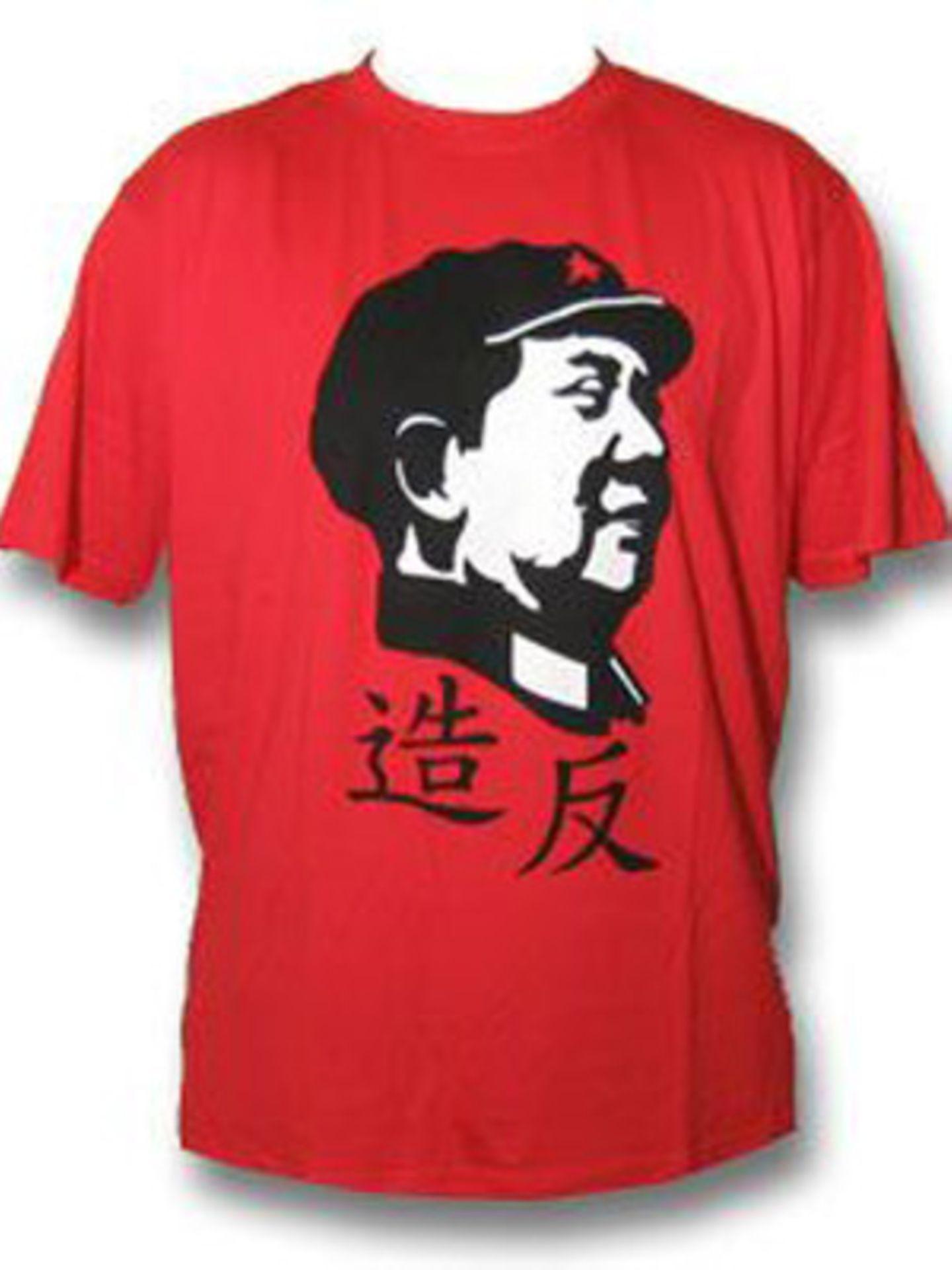 Das trendige Shirt gibt's in den Größen M, L und XL und kostet um 15 Euro. Erhältlich bei www.shirt66.de