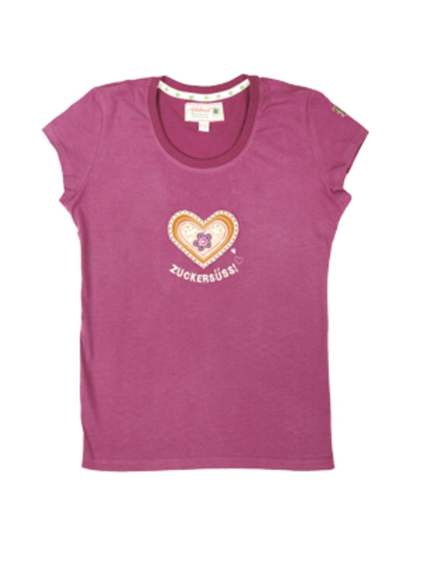 "T-Shirt ""ZUCKERSÜSS!"" aus der Adelheid Glückswerkstatt, um 30 Euro."