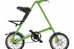 Gar nicht einfältig ist das Fahrrad Strida. In Sekunden lässt es sich zu einem handlichen Paket zusammenfalten. Um 540 Euro.