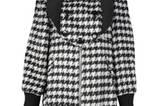Mantel mit angesagtem Hahnentritt-Print und üppiger Kragenlösung. Dahlia, um 110 Euro.