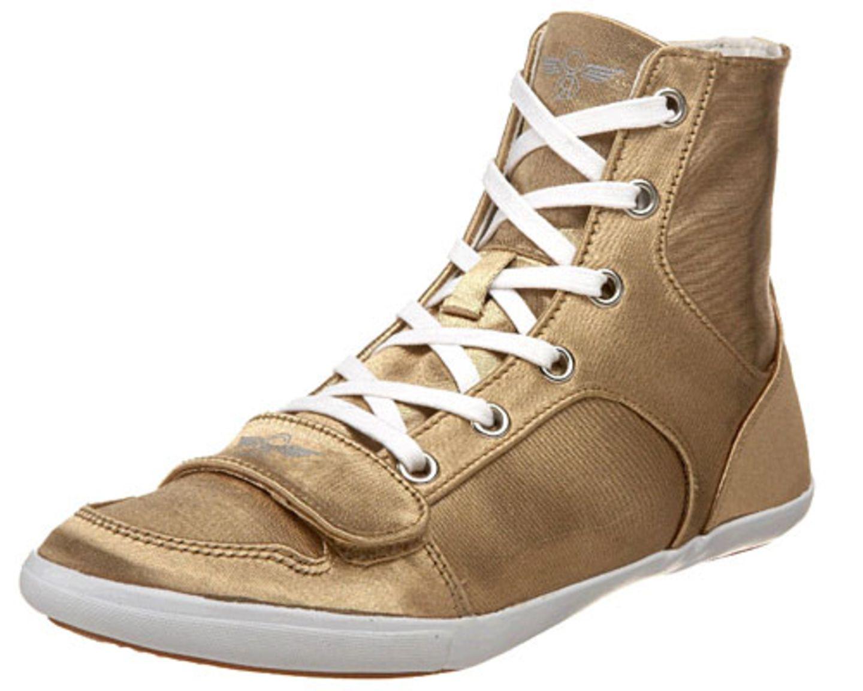 Goldener Sneaker von Creative Recreation über Shopstyle, ca. 70 Euro. Mehr auf BRIGITTE.de: Die schönsten WM-Accessoires Alles rund ums Thema WM Noch mehr Accessoires