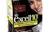 """Die """"Excell 10"""" Creme-Coloration von L'Oréal verspricht ein glänzendes Farbergebnis schon nach 10 Minuten. Um 8 Euro."""