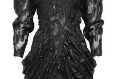 Schwarzes Kleid von H&M, um 60 Euro