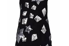 Asymmetrisches Kleid mit funkelnden Sternen von Lipsy, um 100 Euro