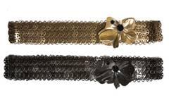 Schöne Gürtel mit Blumen von Hoss, um 110 Euro