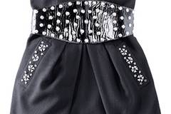 Corsagenkleid mit Nieten von Schunk & Rosenfeld