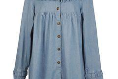 Jeans-Mantel von Pret A Portobello, um 63 Euro.