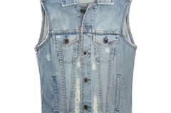 Das Must-Have: Jeans-Weste von Fredflare, um 35 Euro.