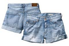 Wir lieben Jeans-Shorts! Diese hier sind von H&M, um 25 Euro.