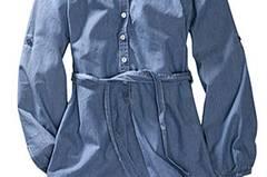 Jeanskleid von H&M, um 25 Euro.