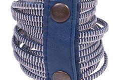 Auch für den Armschmuck ist gesorgt! Armband aus Reißverschlüssen von Pret A Portobello, um 23 Euro.