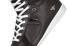 Coole Sneakers aus Glatt- und Lackleder von Creative Recreation über www.frontlineshop.de, 159,99 Euro plus Versand.