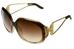 Für erste Sonnenstrahlen: Sonnenbrille mit goldenen Schmetterlingen von H&M, um 7,90 Euro.