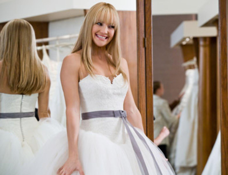 Kate Hudson hat ihr Brautkleid gefunden