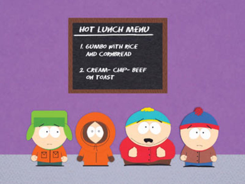 Wieder mit dabei: Stan, Kyle, Cartman und Kenny