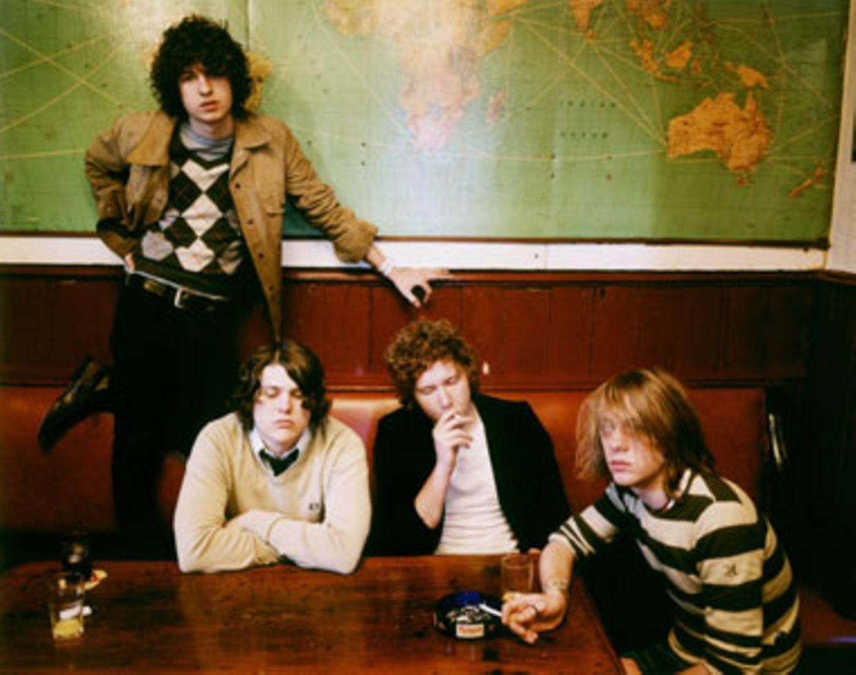 """Ihr aktuelles Album """"Konk"""" verkaufte sich über zwei Millionen mal: Die fünf London-Lads von The Kooks"""