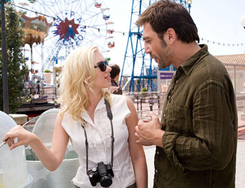 Christinas (Scarlett Johansson) Gefühle fahren Achterbahn, wenn sie bei Juan Antonio (Javier Bardem) ist.