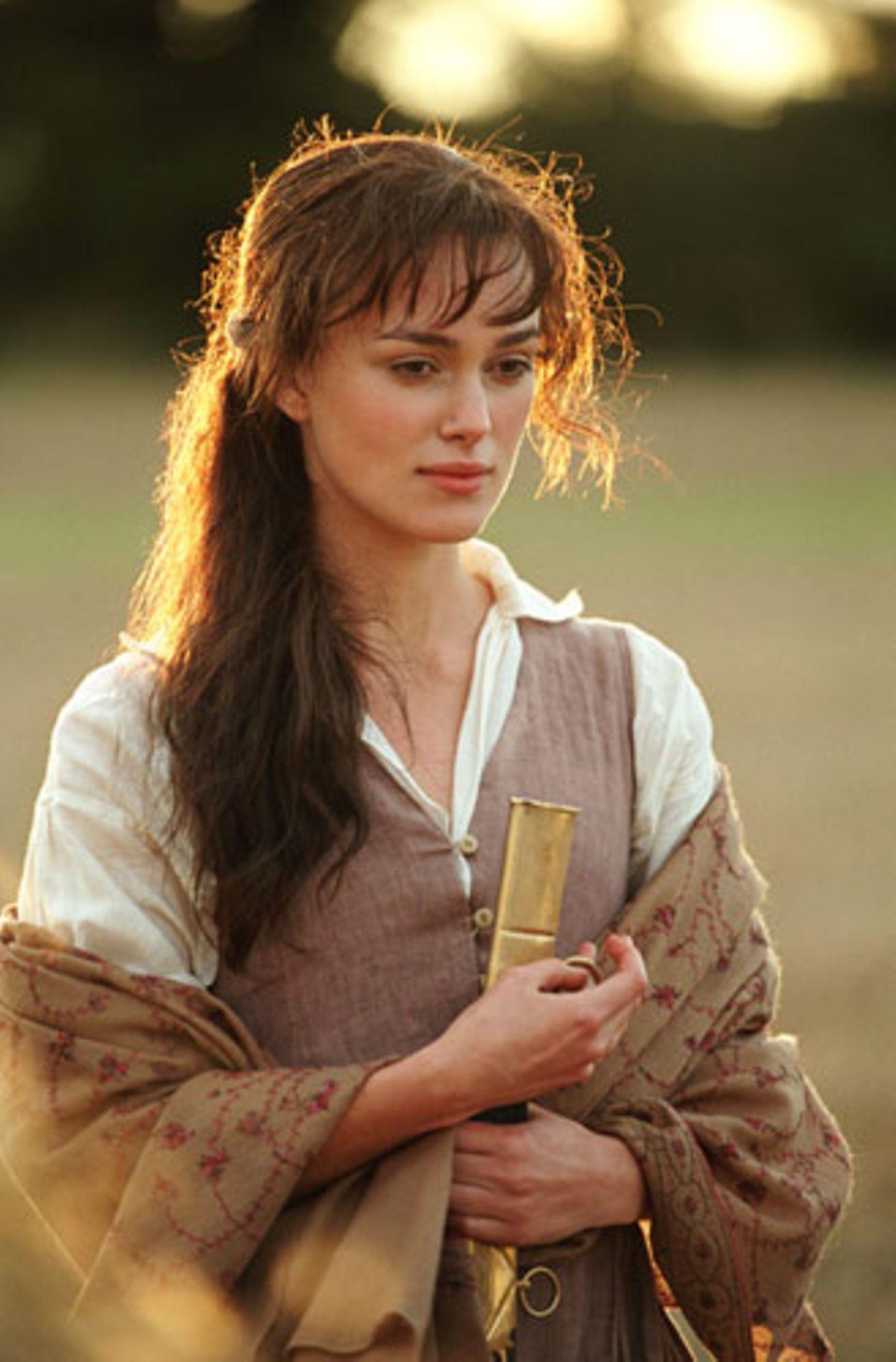 """Keira Knightley als Hauptdarstellerin in """"Stolz und Vorurteil"""""""