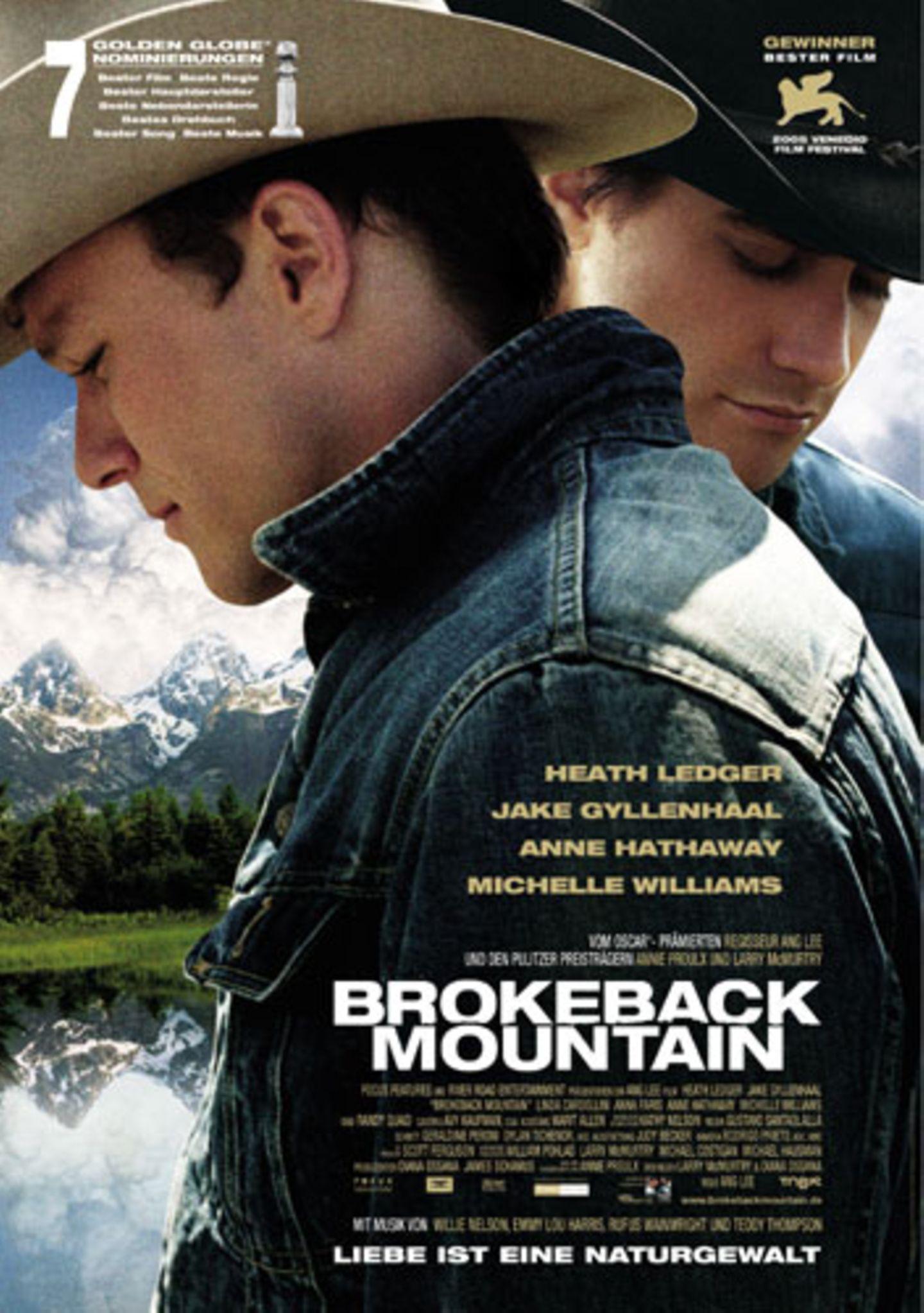 """""""Brokeback Mountain"""" als bester Film"""