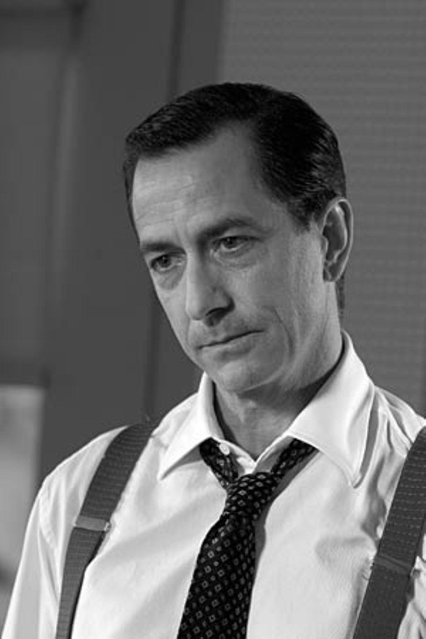 "David Strathairn als Hauptdarsteller in ""Good Night and, Good Luck"""