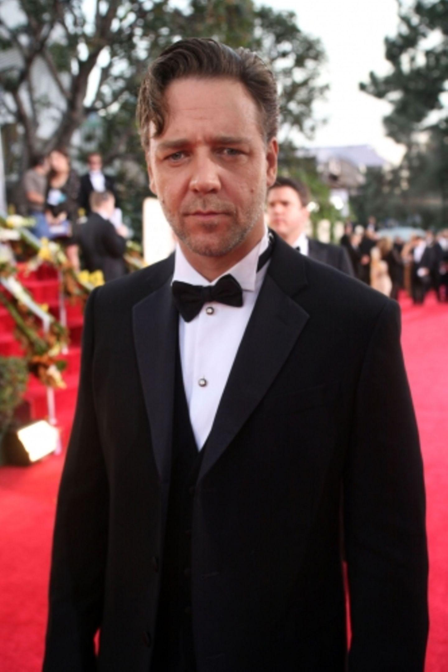 """Auch Russell Crowe war nominiert - für seine Rolle als Boxer in """"Cinderella Man"""""""