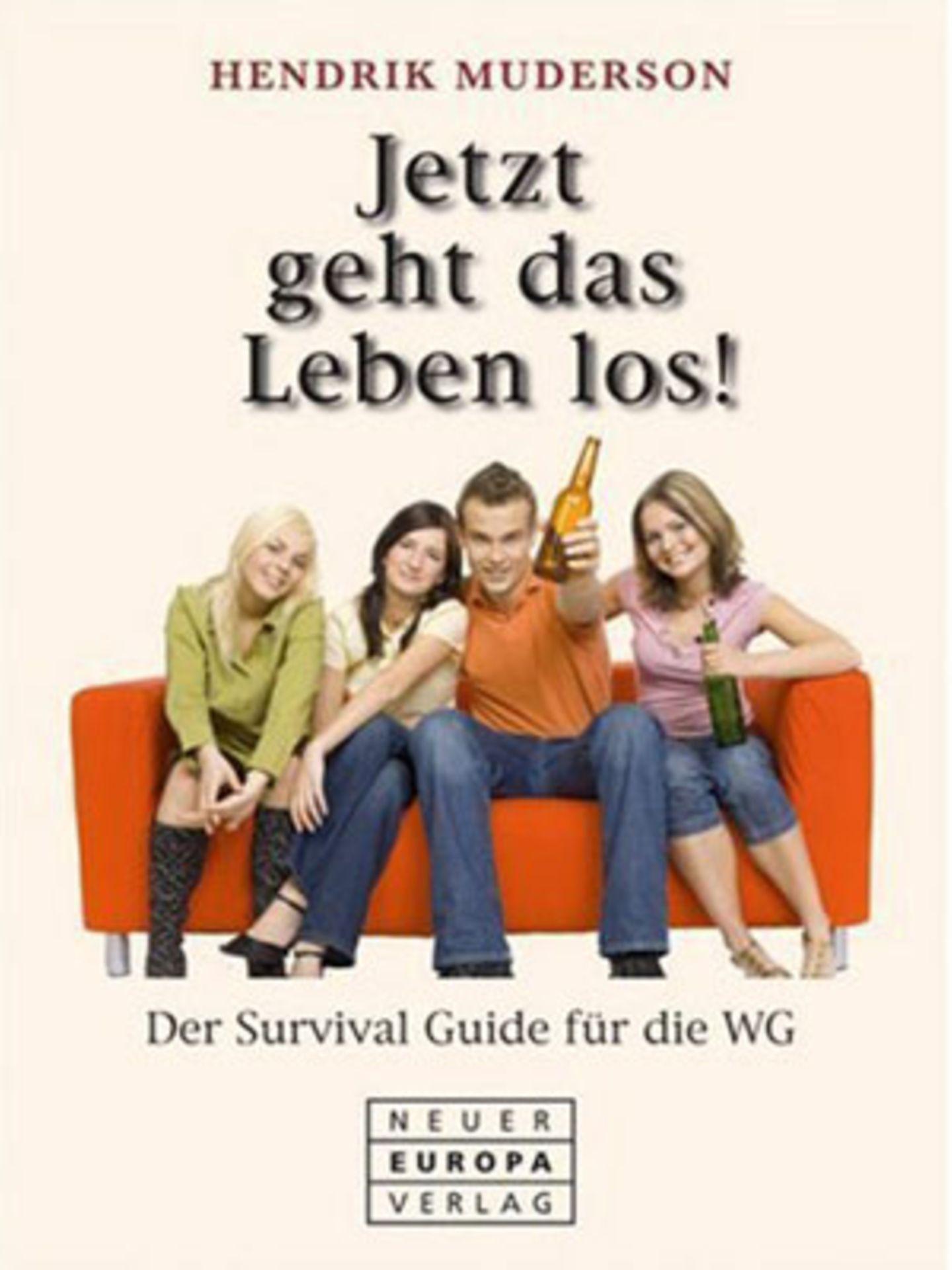 """Kleine WG-Überlebenshilfe    Endlich von zu Hause raus und rein ins WG-Leben! Doch so mancher WG-Anfänger sieht sich plötzlich mit ganz neuen Fragen konfrontiert: Wie schließe ich einen rechtsgültigen Mietvertrag? Wie reagiert die Telefongesellschaft bei 3 Monaten Zahlungsverzug? Wann werden abgelaufene Lebensmittel giftig? Antworten und noch viele weitere Tipps liefert das Buch """"Jetzt geht das Leben los!: Der Survival Guide für die WG"""" von Hendrik Muderson, Neuer Europa Verlag, 192 Seiten, 9,90 Euro über >> www.buecher.de"""
