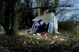 1. Preis in der Kategorie: Contemporary Issues, Stories Eine provisorische Zeltunterkunft von Immigranten im französchichen Calais