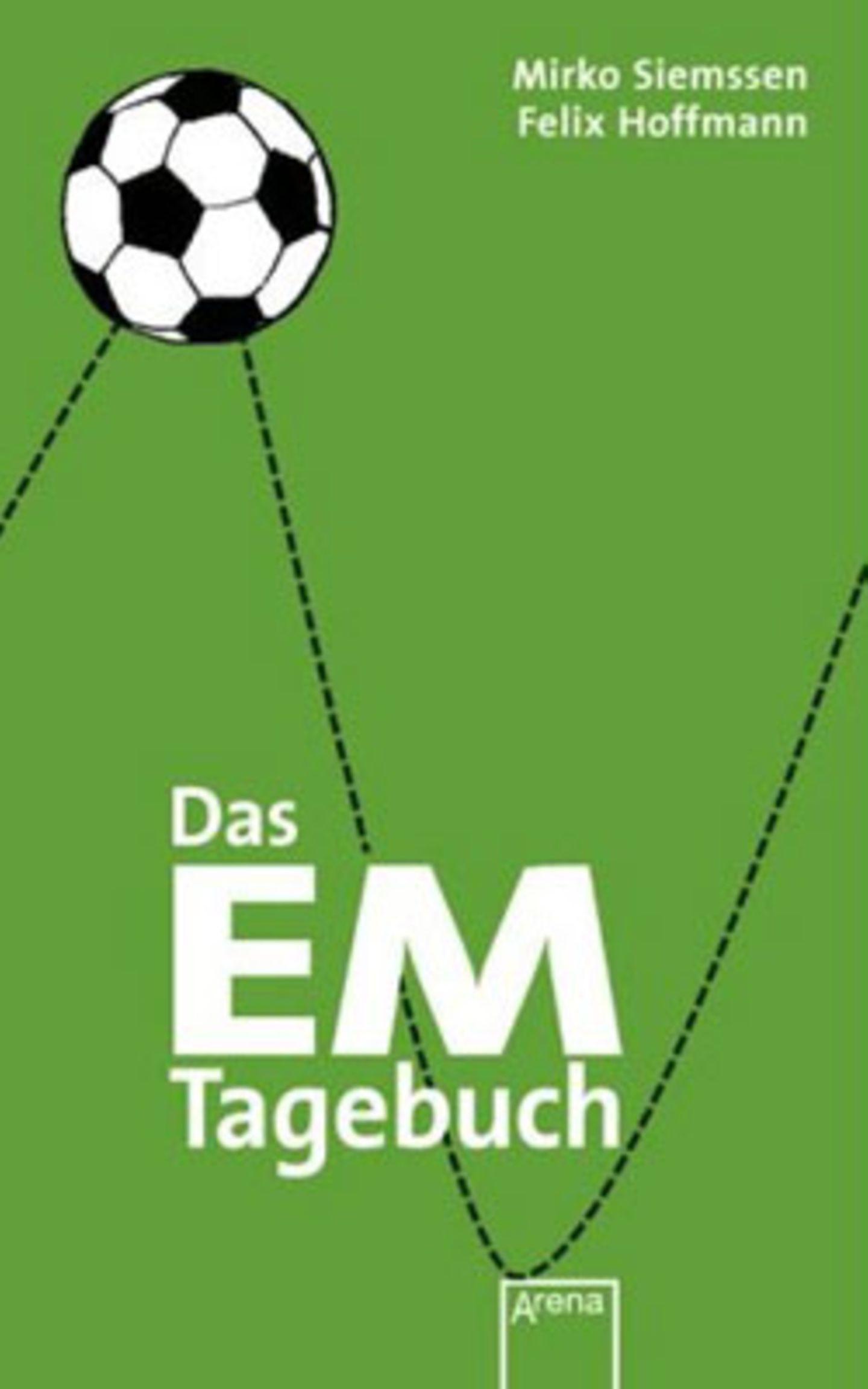 Das EM-Tagebuch bietet Platz zum Eintragen der wichtigsten Ergebnisse, liefert interessante Hintergrundinfos zu der Geschichte der EM und der deutschen Mannschaft. Mit zwei Doppelseiten für jeden Spieltag und vielen Seiten für das Drumherum, für 8,95 Euro zzgl. Versandkosten über >> www.amazon.de