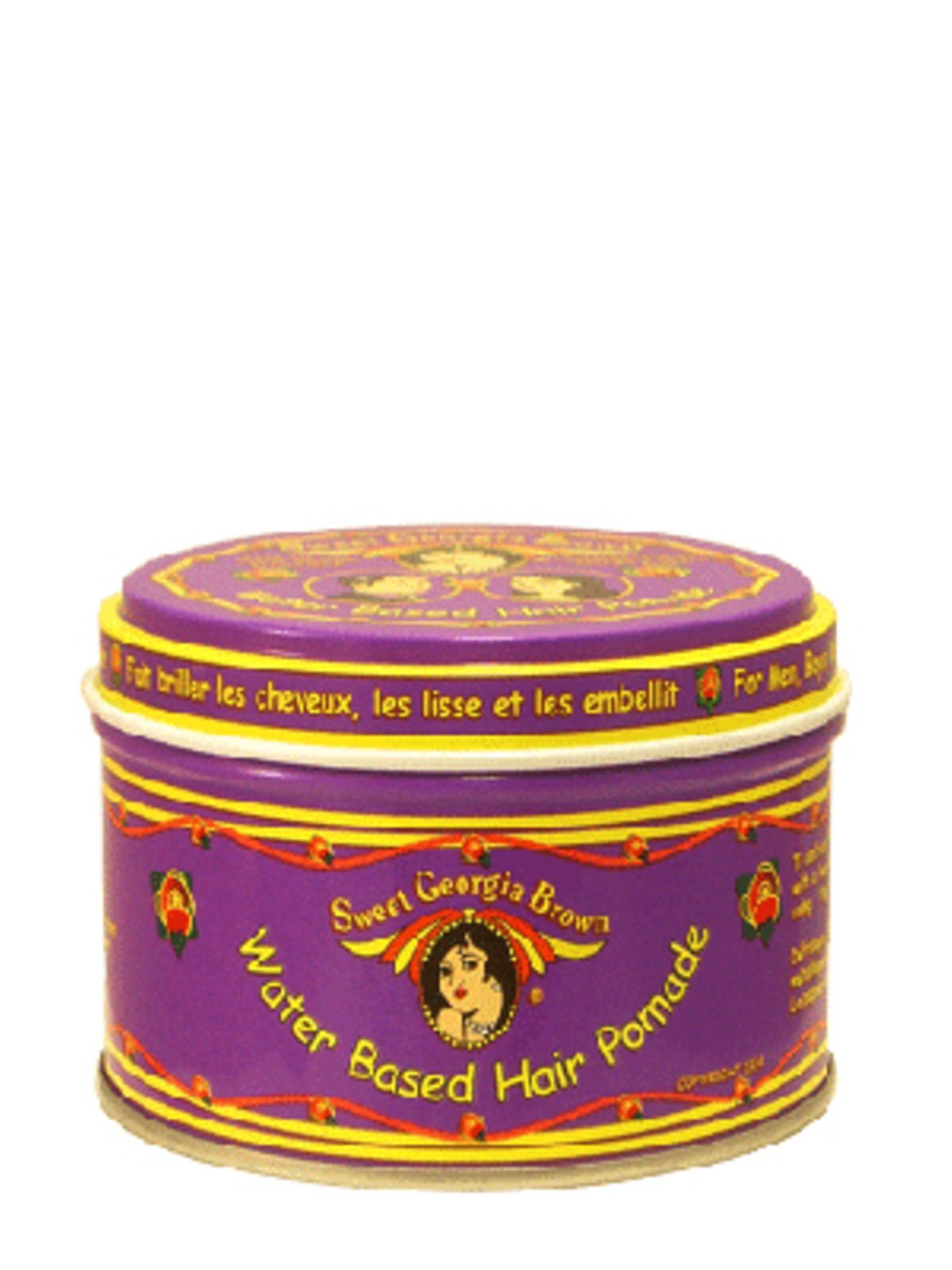 Warum Opa nicht eine Erinnerung an seine damals so volle Föhnwelle schenken? Im PomadeShop gibt's original Haarstyling-Produkte aus den zwanziger bis fünziger Jahren. Die Sweet Giorgia Brown Hair Dressing Pomade kostet um 7 Euro.