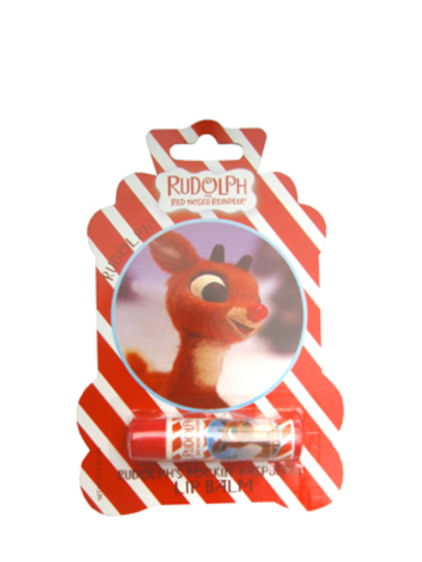 """Lippenbalsam """"Rudolph"""" von PINJA, um 6 Euro."""