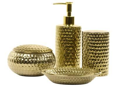 Golddigger    Badezimmer-Set mit absolutem WOW-Effekt!     Preis: ab ca. 6 Euro, über  www.zarahome.com