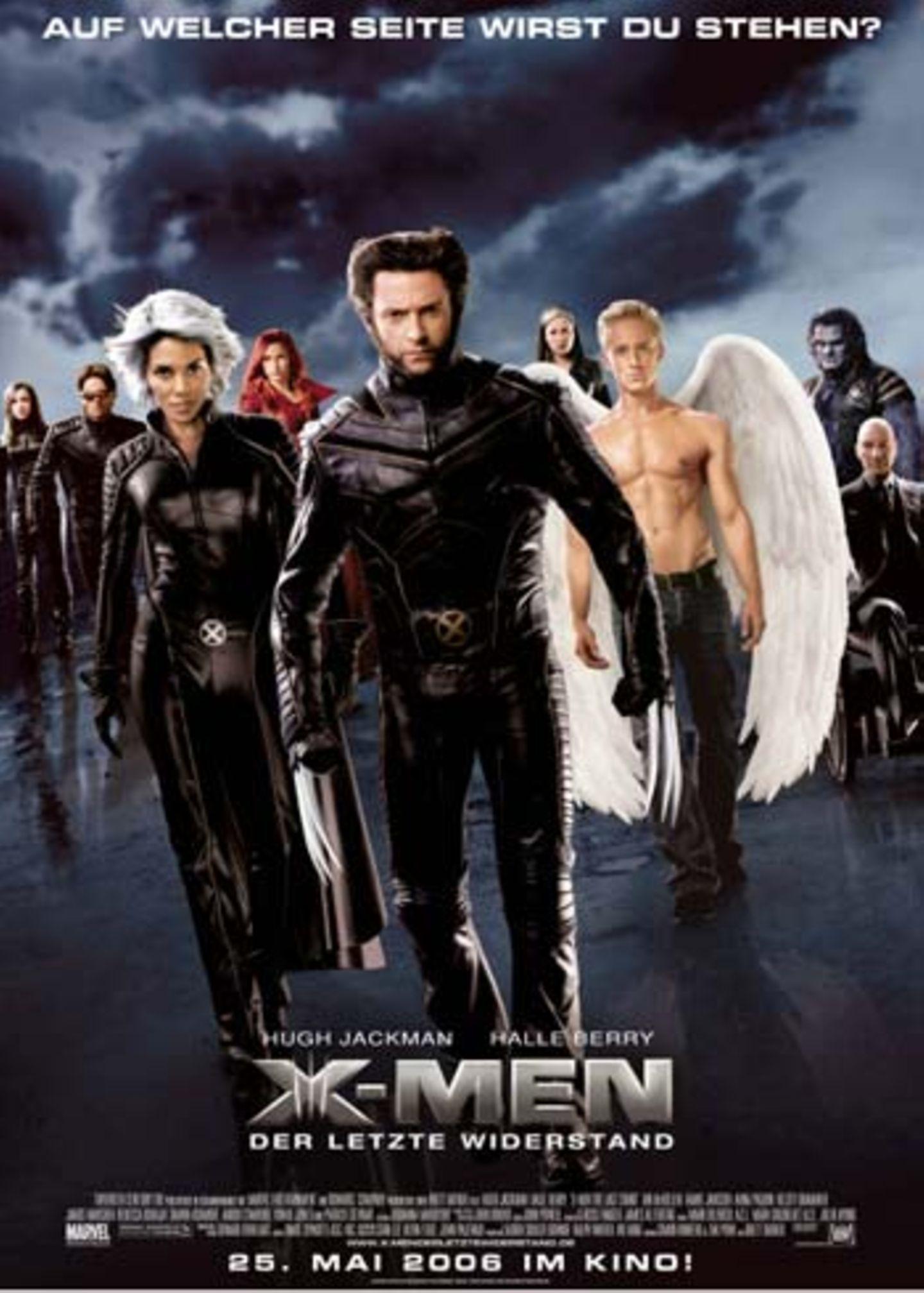 Dem Film geht's ähnlich wie dem offiziellen Filmplakat: Kaum genug Platz für all die Figuren