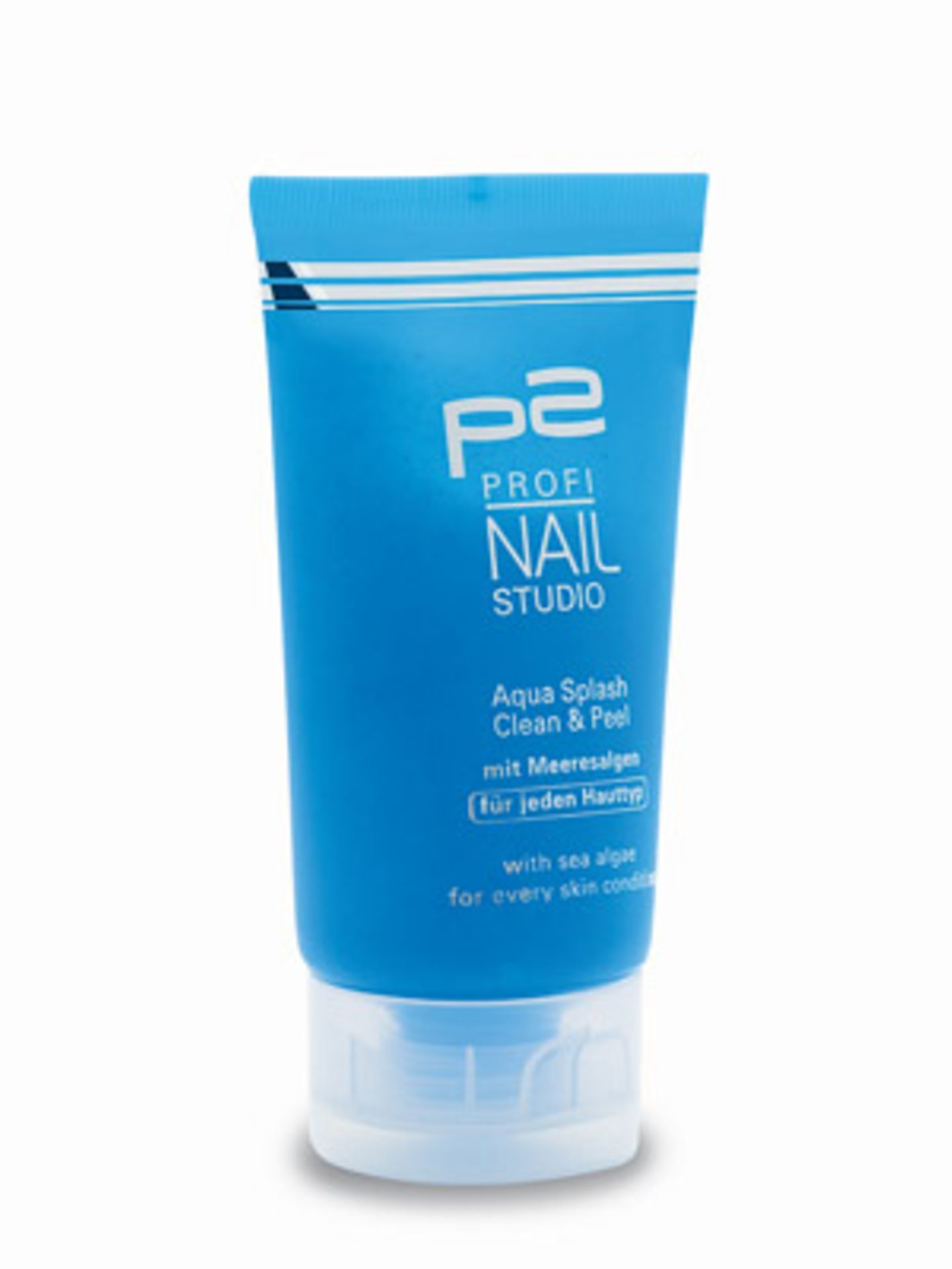 Reinigungsgel mit Peeling-Effekt für die Hände von P2, ca. 2,50 Euro.