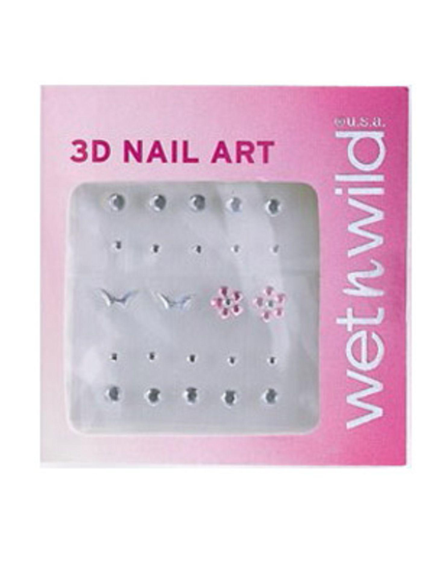 3D-Nailart von Wet'nWild, ca. 1 Euro.