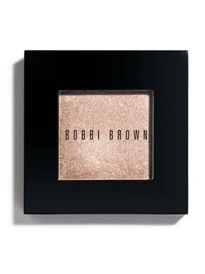 Lidschatten mit Glitzer-Partikeln in tollem Goldton von Bobbi Brown, um 22 Euro.