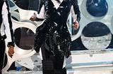 Janet Jackson trat live auf.