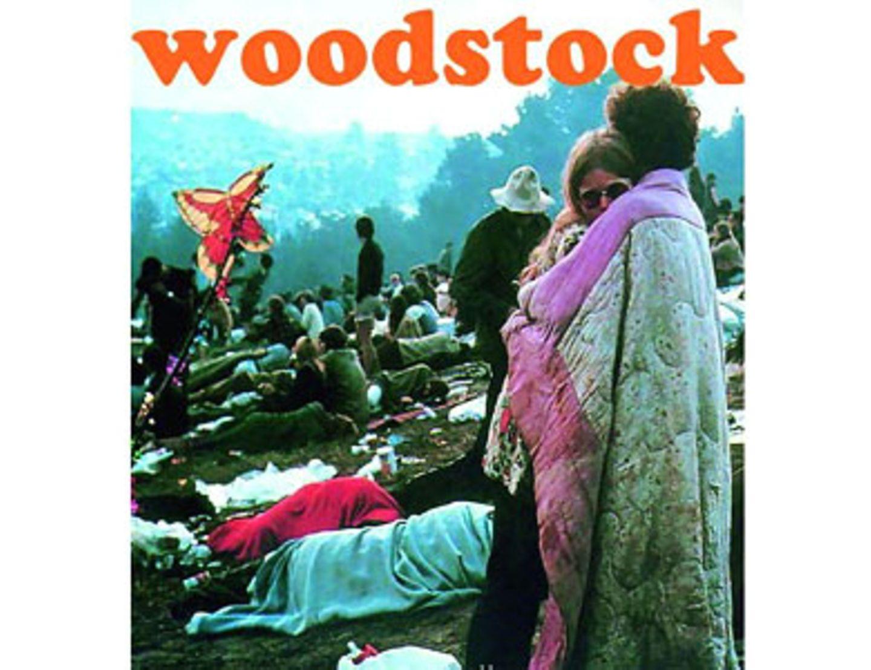 Woodstock-Chronik von Conleys, um 40 Euro.