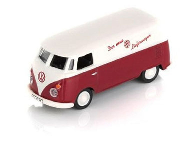 Magnet-VW-Bus für den Kühlschrank von design-3000.de, um 8 Euro.