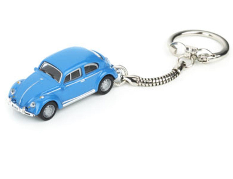 VW-Käfer-Schlüsselanhänger von design-3000.de, um 8 Euro.