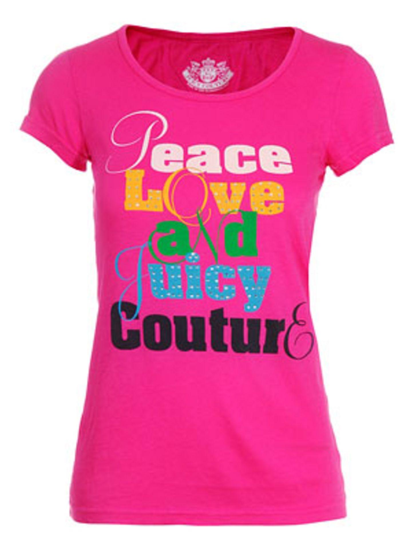 Peace and Love-Shirt von Jades 24, um 100 Euro.
